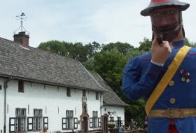 The folk figure Pierlala at Drongengoedhoeve.