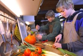 Bio-dynamische boerderij De Kollebloem in Sint-Lievens-Esse