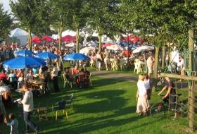 Het Sint-Annapark in Maldegem is altijd een bron van leven en activiteit
