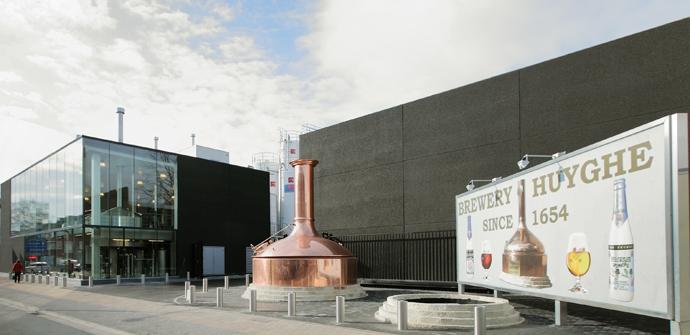 Brouwerij Huyghe in Melle