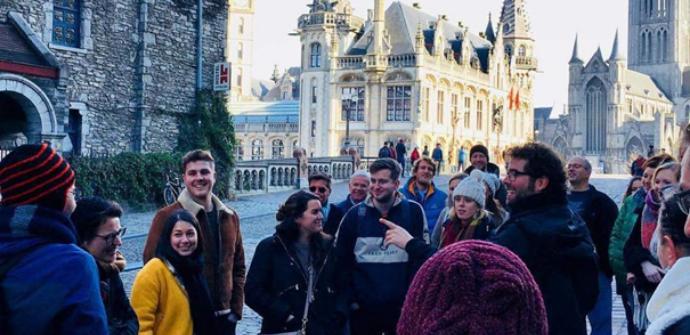 Een afbeelding van The Ghent Experience, met een Gentse gids!