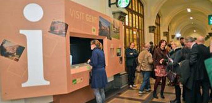 Een afbeelding van Toeristisch infopunt Gent (station)