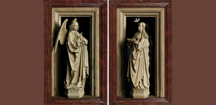 De Annunciatie Van Eyck