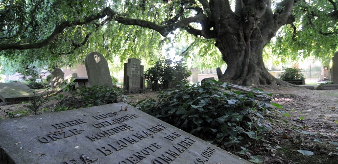 Protestants kerkhof Horebeke